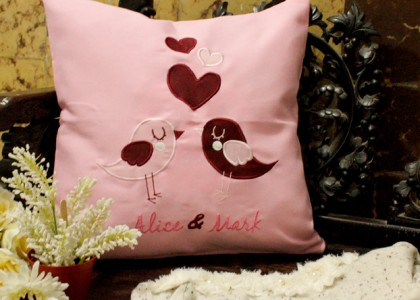 Gifts – Pillow with special request words ^^
