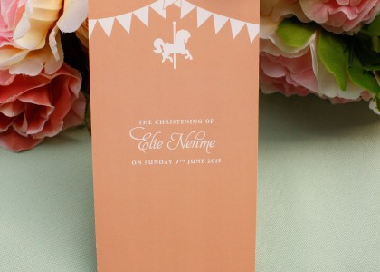 Elie Nehme Christening – Table Number
