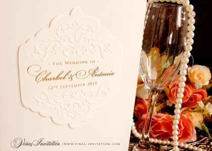 Charbel & Anthonia – Wedding Stationary