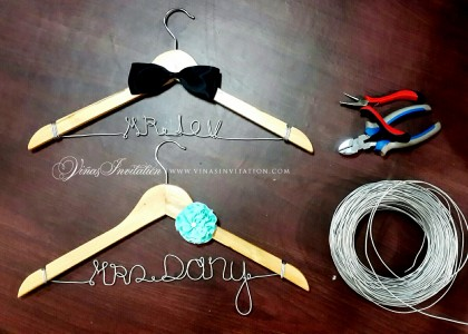 Bride & Groom – Hanger