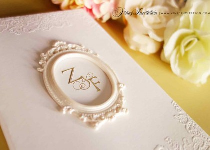 ZF – Detail Wedding Invitation