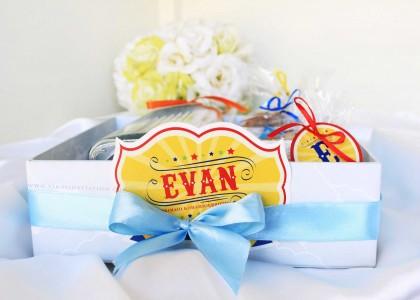 Evan one month hampers