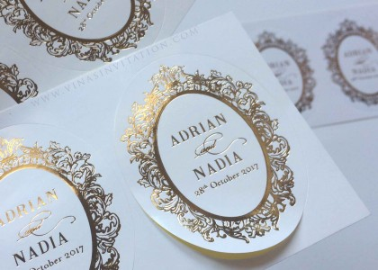 Adrian & Nadia – stickers