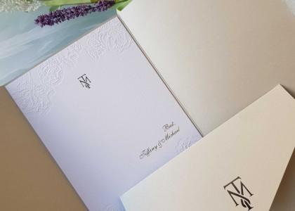 Tiffanny & Michael – thankyou card